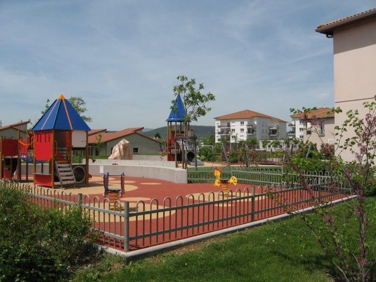 Quartier de Tartavel à Davézieux